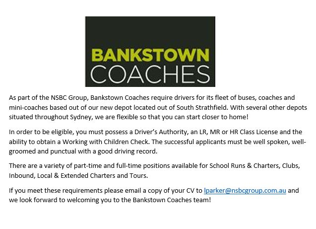 Bankstown Coaches Drivers Ad .2