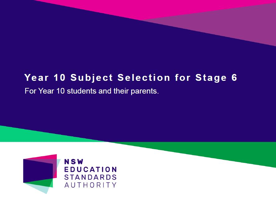Year 10 Subject Selection